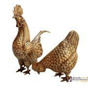 ไก่ทองเหลือง Brass Chicken M