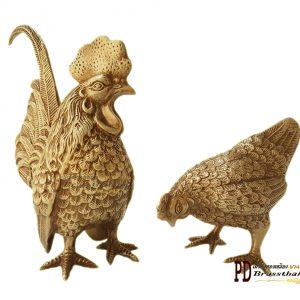 ไก่ทองเหลือง Brass Chicken