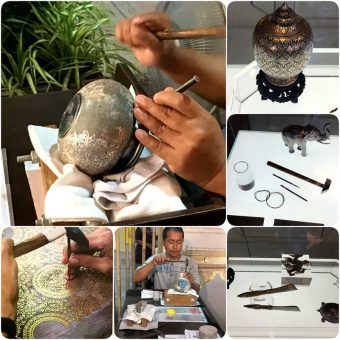 คร่ำหัตถศิลป์ไทยโบราณ